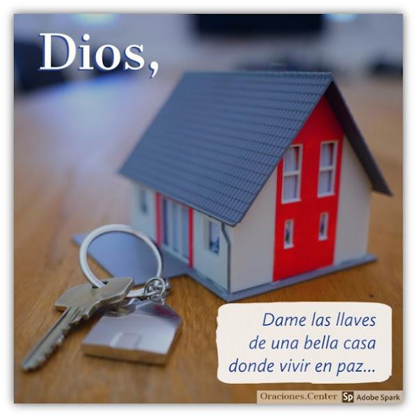 Oración para Conseguir Casa