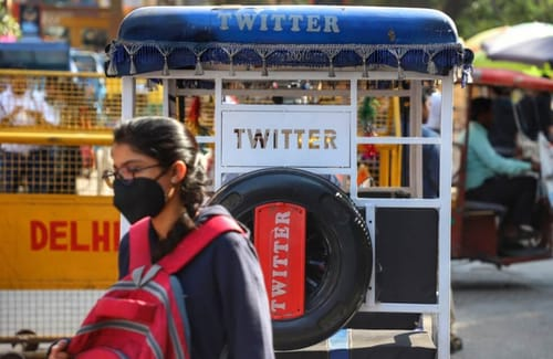 Indian police raid Twitter offices