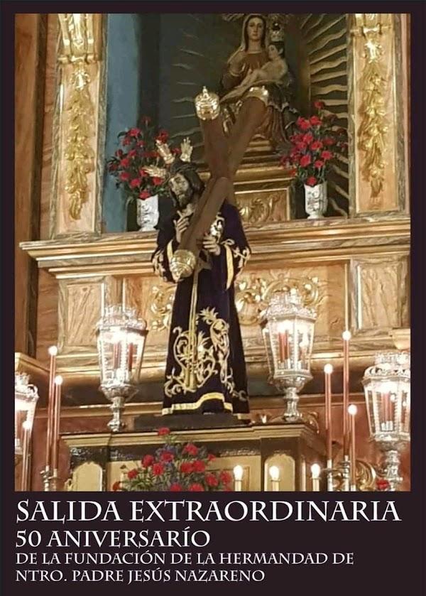 Procesión Extraordinaria de la imagen de Nuestro Padre Jesús Nazareno de El Cerro del Andévalo
