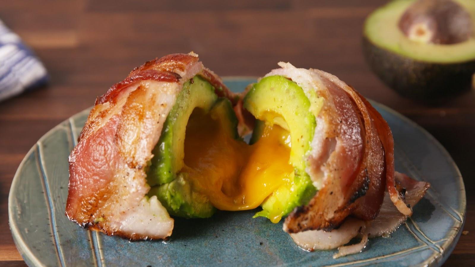 Bacon Avocado Bombs