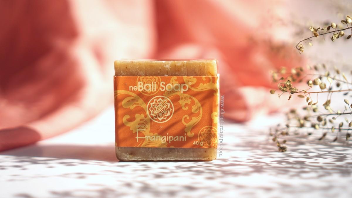Review Ne Bali Soap Bar Frangipani