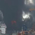 Kapal milik PT. Waruna Nusa Sentana yang Sedang Melakukan Perawatan Hangus Terbakar.