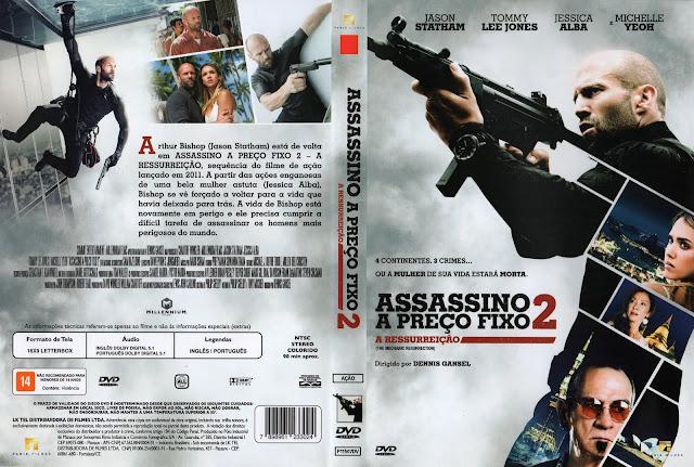Capa DVD Assassino A Preço Fixo 2