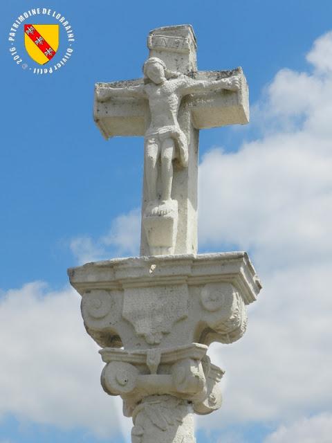 CHATENOIS (88) - Croix-calvaire (1746)
