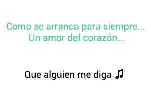 Gilberto Santa Rosa Que Alguien Me Diga significado de la canción.