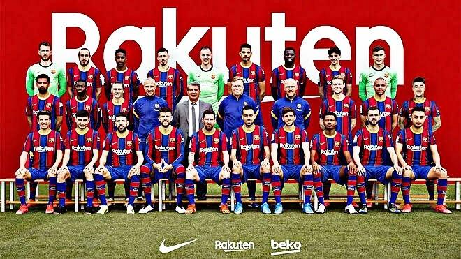 FC Barcelona full Squad list