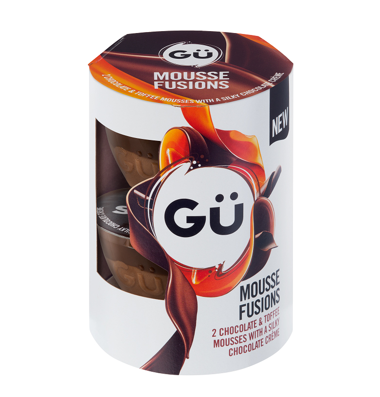 Chocolate and Toffee GU Mousse Fusions