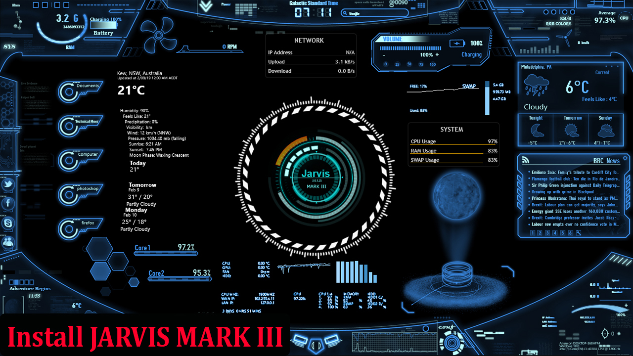 iron man jarvis voice download for pc