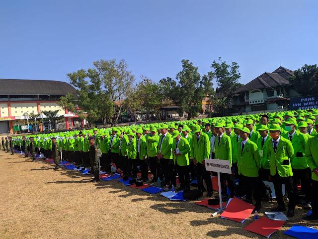 Sejumlah 4419 Mahasiswa Baru UIN Walisongo Ikuti Pembukaan PBAK 2019