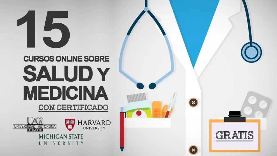 15 cursos gratuitos online sobre Medicina y Salud (con certificado ...