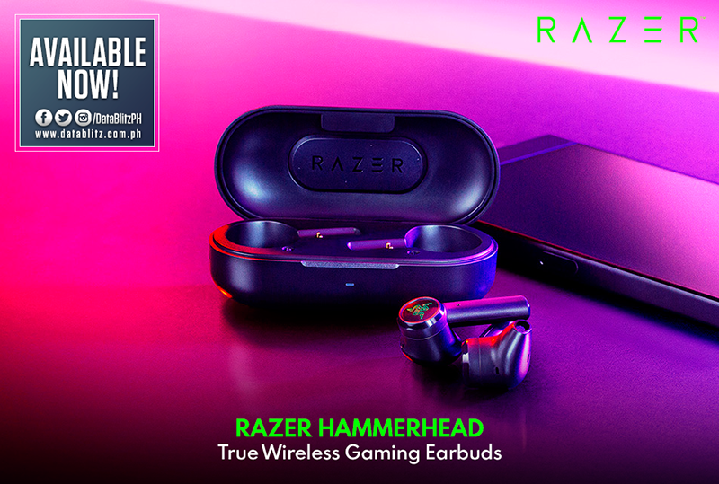 Razer Hammerhead True Wireless Earbuds arrives in PH, priced at PHP 4,995!