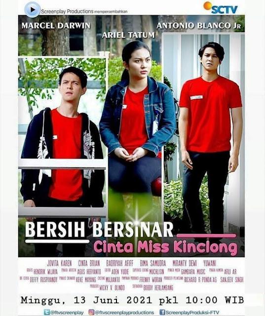 Daftar Nama Pemain FTV Bersih Bersinar Cinta Miss Kinclong SCTV 2021 Lengkap