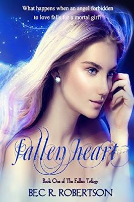 The Fallen paranormal romance FALLEN HEART Bec R. Robertson