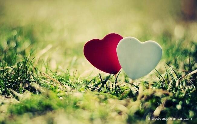 Dos corazones de los enamorados