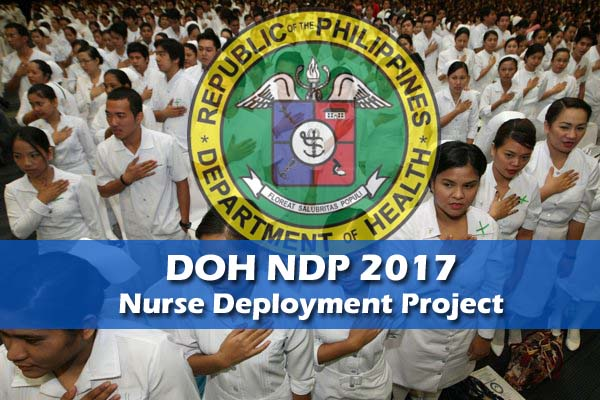 DOH NDP 2017 Application Updates by Region