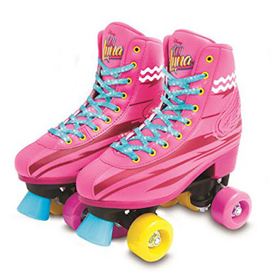 DISNEY Soy Luna - Light Up : Patines con luz | Roller Stake Training | Giochi Preziosi 2017 | SERIE TELEVISION | DETALLE PATINES