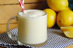 Frosted Lemonade Recipe #healthydrink #easyrecipe