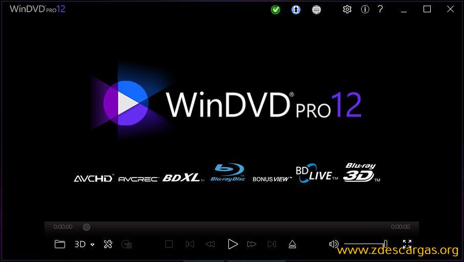 Corel WinDVD Pro 12 Full Español