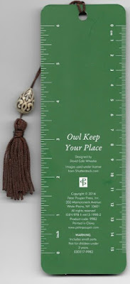 Bookmark Owl back