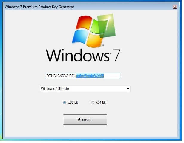 Windows 7 Activation keys