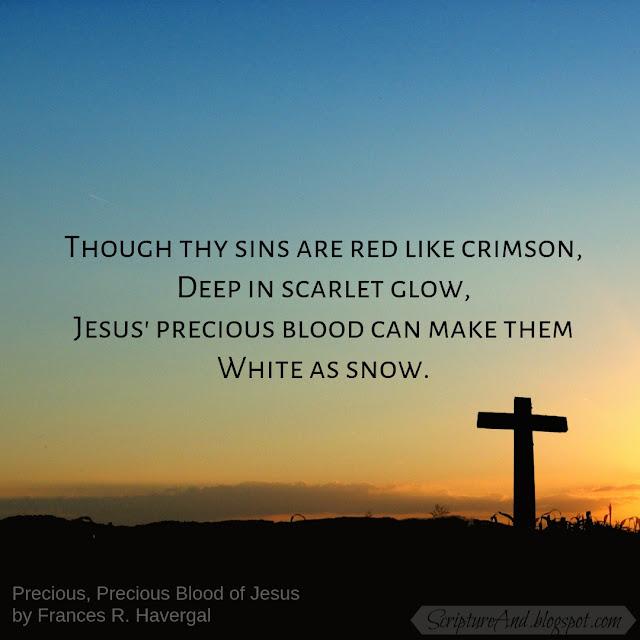 Bible Verses to Precious Precious Blood of Jesus | scriptureand.blogspot.com