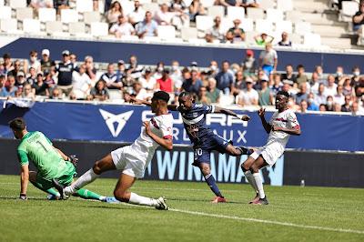 اهداف مباراة بوردو و كليرمون (0-2) الدوري الفرنسي