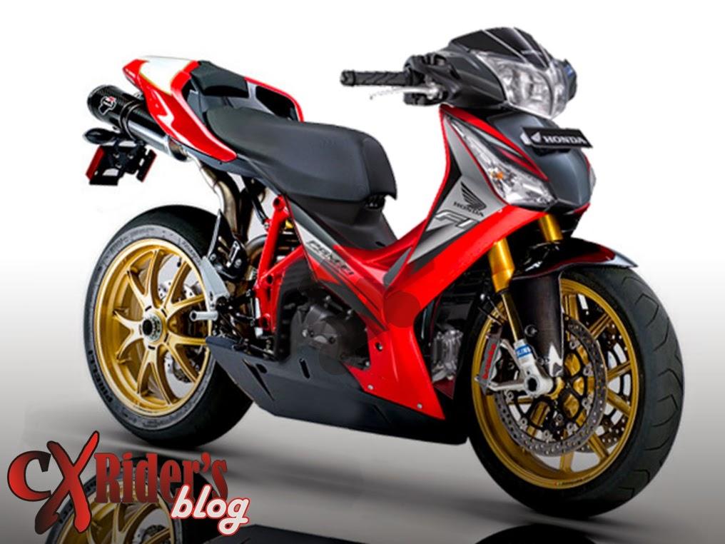 terbaru modif motor bebek touring