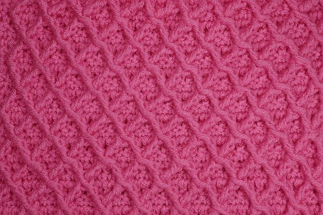 4-Crochet Imagen Puntada de rombos a crochet especial a para jarseys y cobijas por Majovel Crochet