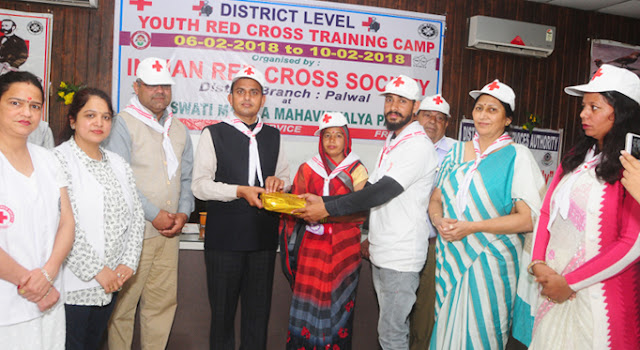 Five-day Youth Raidras Training Camp concluded in Palwal