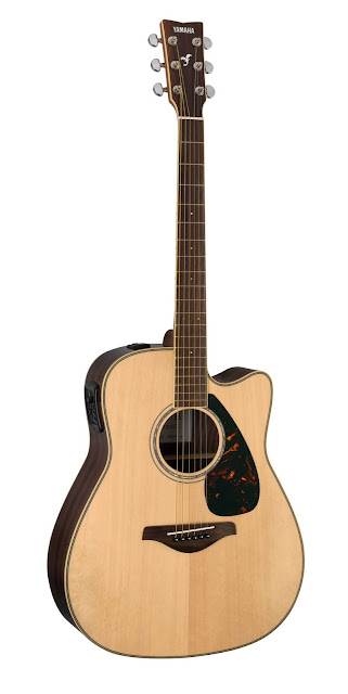 на фото гитара