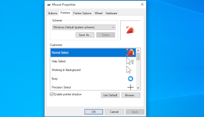 Cara Mengganti Kursor Laptop Dengan Animasi