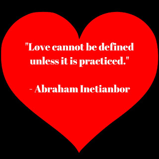 love cannot be defined by Abraham Inetianbor