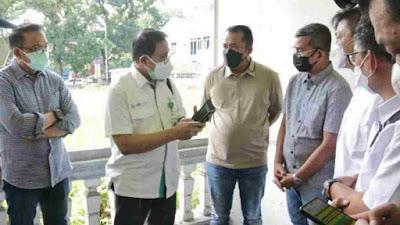 Pemko Medan dan Pemerintah Pusat Bahas Antisipasi Membludaknya Pasien Covid-19 di Kota Medan