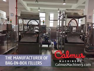 Factory Shot 3 of Bag-in-Box Filler Manufacturer - Calmus Machinery
