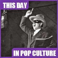 'The Lone Ranger' radio show debuted on January 30, 1933.