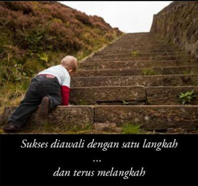 Sukses Diawali dengan Langkah-Langkah Kecil