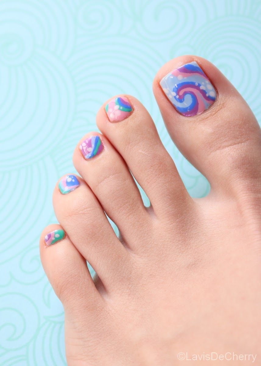 nail-art-coloré-funky-colorful-vernis-facile-abstrait