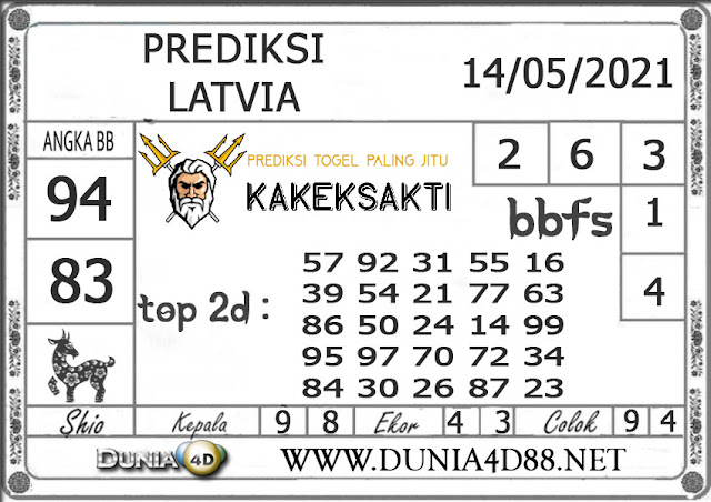 Prediksi Togel LATVIA DUNIA4D 14 MEI 2021