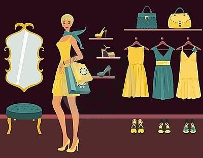 Merchandising Boutique Pret A Porter