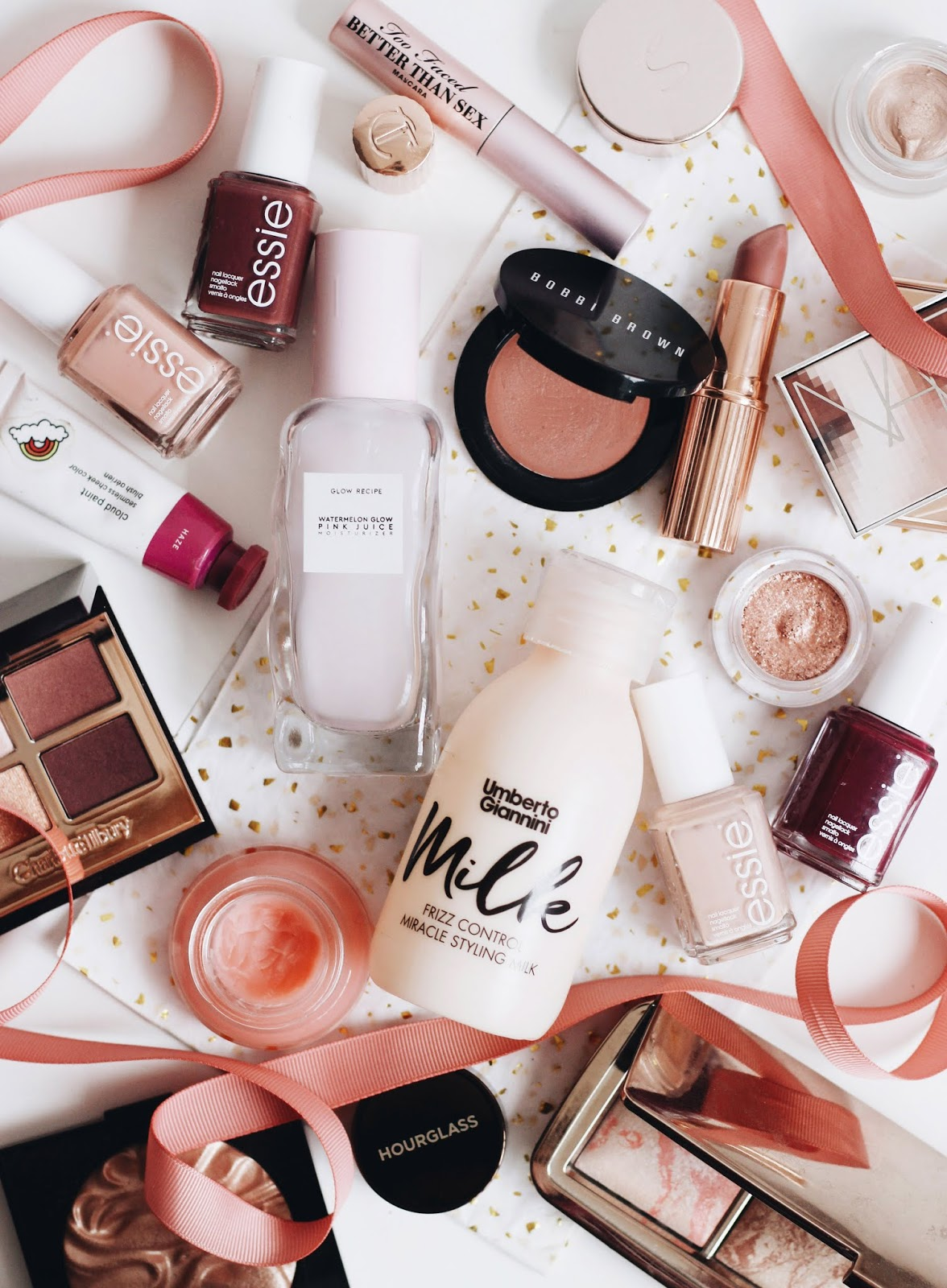 Pink and Burgundy Beauty Favourites