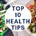 Top 10 Health Tips in Hindi | 10 हेल्थ टिप्स हिंदी में