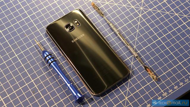 Inilah jeroan Samsung Galaxy S7, memiliki sistem pendingin cair