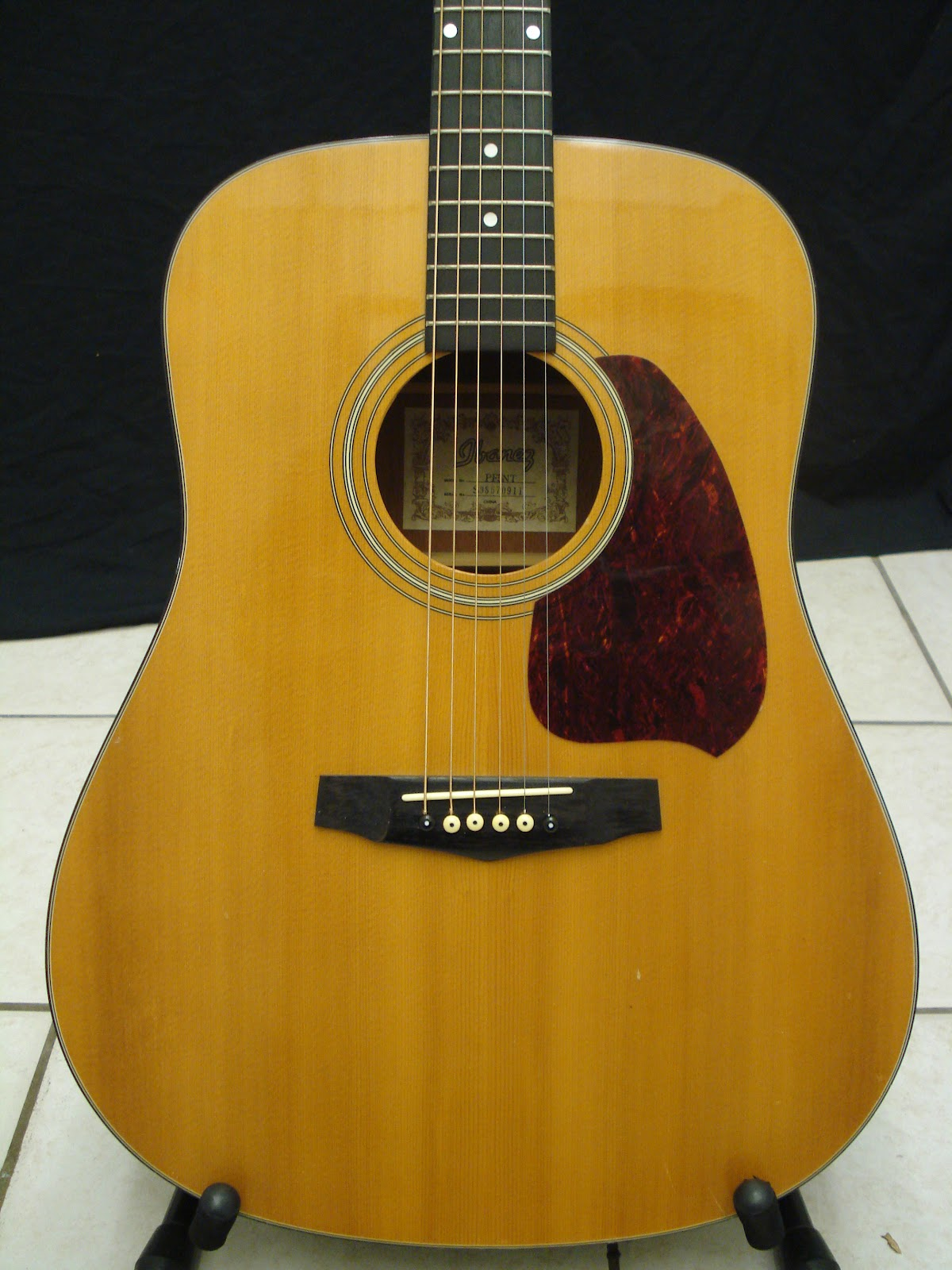 socal gear museum 1998 ibanez performance pf5nt acoustic guitar. Black Bedroom Furniture Sets. Home Design Ideas