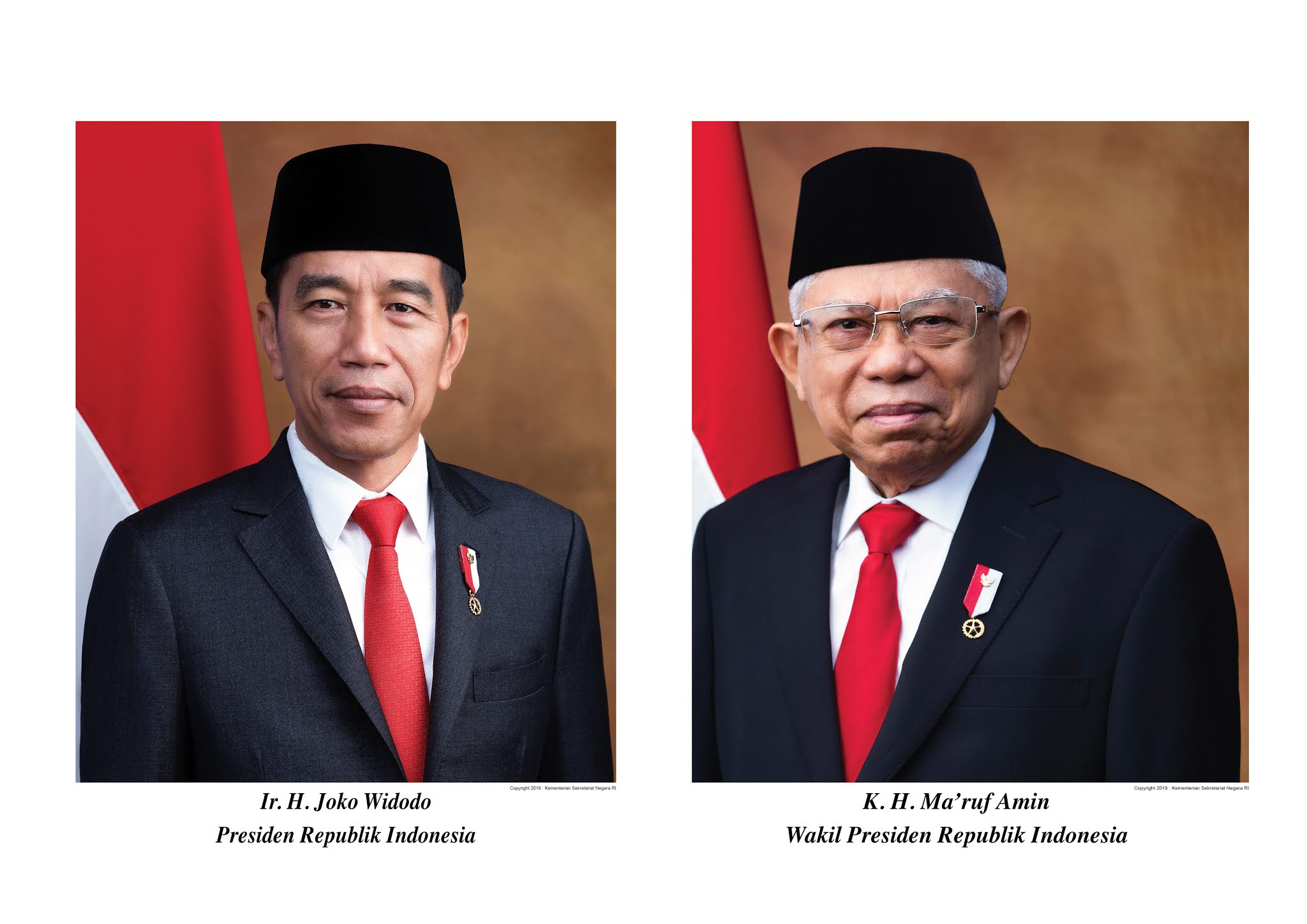Download Foto Presiden dan Wakil Presiden