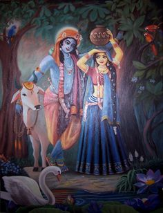 Radha Krishna Images With Love Quotes In Hindi (2020)