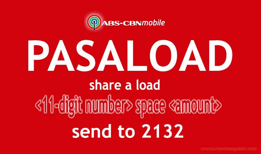ABS CBN Mobile Share A Load
