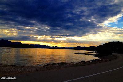 peljesac penisola drace sunrise