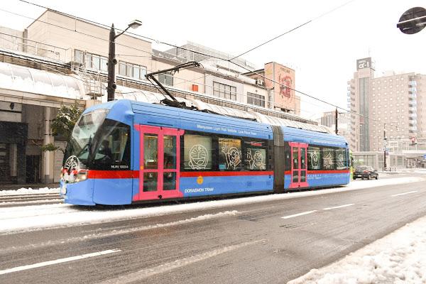 Doraemon Tram Takaoka City