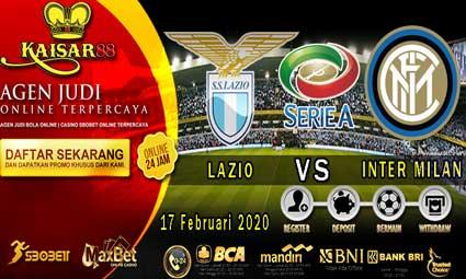 PREDIKSI BOLA TERPERCAYA LAZIO VS INTER MILAN 17 FEBRUARI 2020