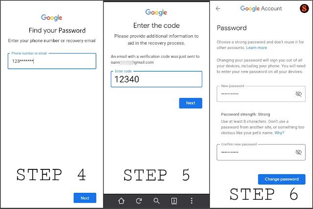gmail ka password kaise nikale